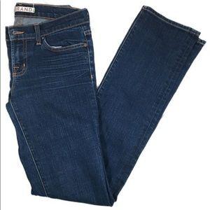 J brand dark blue denim wash jeans Sz 26 INK EUC